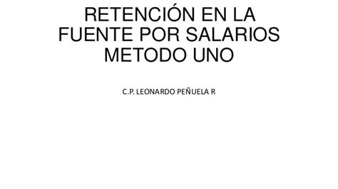 calculadora retencion en la fuente empleados 2016 retencin en la fuente 2016 colombia
