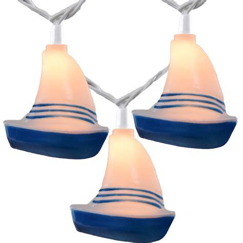 novelty string lights sailboat novelty string lights 10 lights