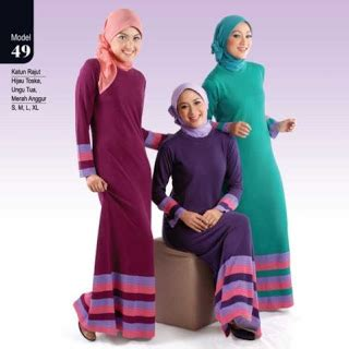 Baju Wanita Muslim Trenduy Gaul Cantik Modis Modern Hanifah Maxy gambar pakaian busana muslim modern indo poster