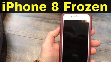 fix  iphone  frozen screen easy repair youtube