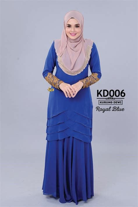 Baju Bridesmaid Royal Blue baju kurung muslimah moden chiffon end 7 22 2016 11 13 am
