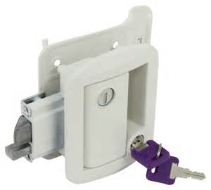 replacement rv entry door latch kit for lippert components