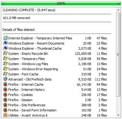 ccleaner uninstalled itself ccleaner 安全文件删除与工作进程擦除
