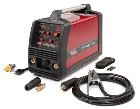 lincoln electric welding supplies lincoln invertec v160 t tig and stick welder k1845 1 ebay
