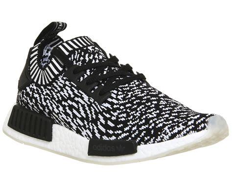 Adidas Nmd R1 Primeknite Black For adidas nmd r1 prime knit black white print his trainers