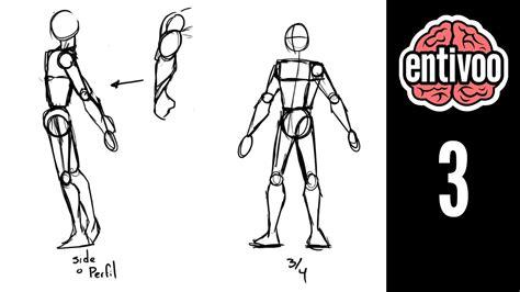 imagenes de figuras humanas egipcias aprende a dibujar el esqueleto y sus proporciones parte