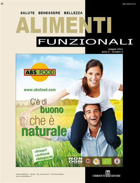 alimenti funzionali definizione alimenti funzionali 05 2011 by chiriotti editori srl issuu