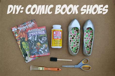 diy comic shoes p s diy comic book shoes