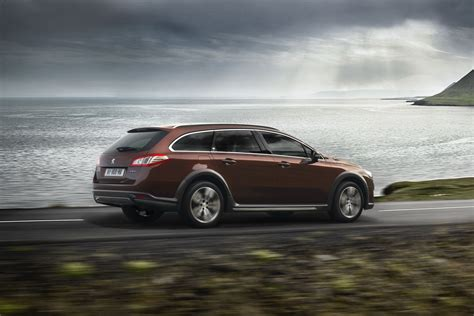 peugeot awd cars new peugeot 508 rxh with awd diesel electric hybrid