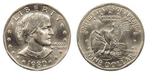 1980 p susan b anthony dollars value and prices