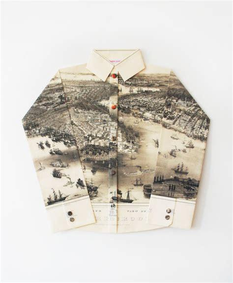 Elisabeth Lecourts Map Clothing by Paper Dress Maps The Work Of Elisabeth Lecourt Pikaland