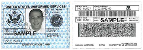 us army id card template 8 best images of id card sle veteran id card