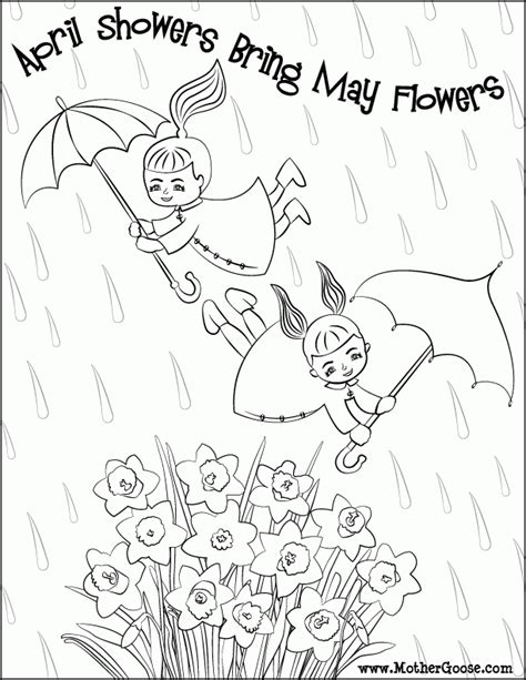 coloring pages may flowers april showers bring may flowers coloring pages coloring home
