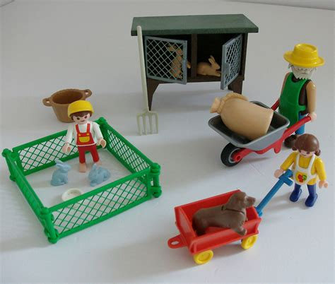 Playmobil Rabbit Hutch playmobil rabbit hutch set 3751 163 14 99 picclick uk