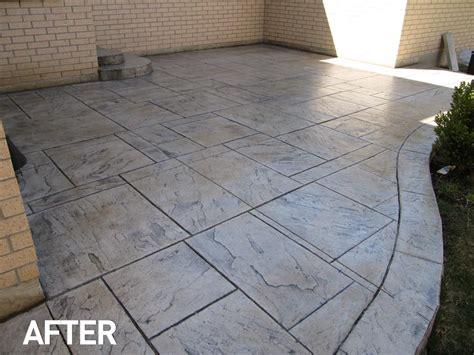 pattern concrete natural stone pattern concrete sealtech