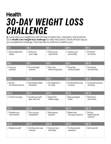 Rehab Weight Loss And Diet by 30 Day Weight Loss Challenge Easy Meal Plans Weight