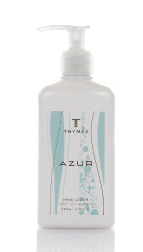 Thymes Azure by Thymes Lotion Azur 8 25 Ounce Bottle Thymes