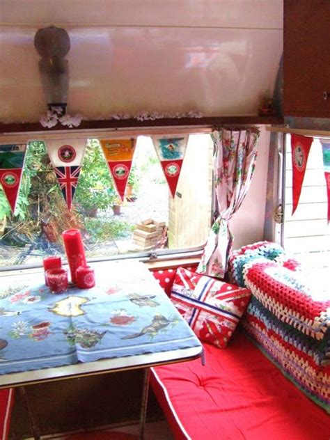 Vintage Camper Decorating Ideas How To Decorate Vintage Trailer Autos Post