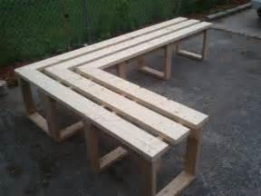 items similar to patio porch quot l quot shaped wood bench on etsy