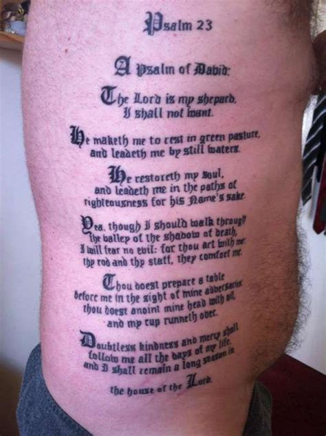 23 psalm tattoo design best 25 psalm 23 ideas only on verse