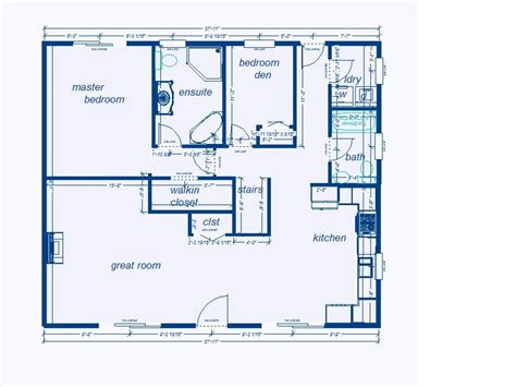 Blueprints For Houses | foundation plans for houses blueprint house free in 12 top