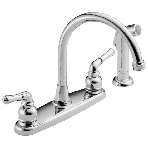 fontaine 2 handle high arc standard kitchen faucet with high arc 2 handle standard kitchen faucet with side