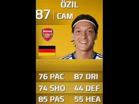 ozil hairstyle fifa 14 fifa 14 ozil in depth player review w gameplay youtube