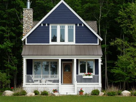 Blue Cottage by Cool Summer Cottages Allow Us To Chill