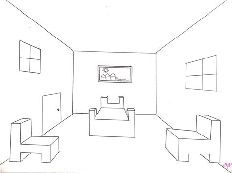 draw a room draw room point perspective youtube hours home living