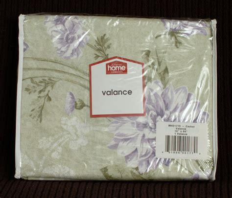 jcpenney home collection cachet valance 16 x84 centindo