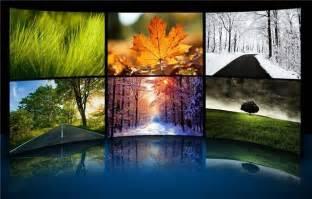les quatre saisons en th 232 me de bureau pour windows 7