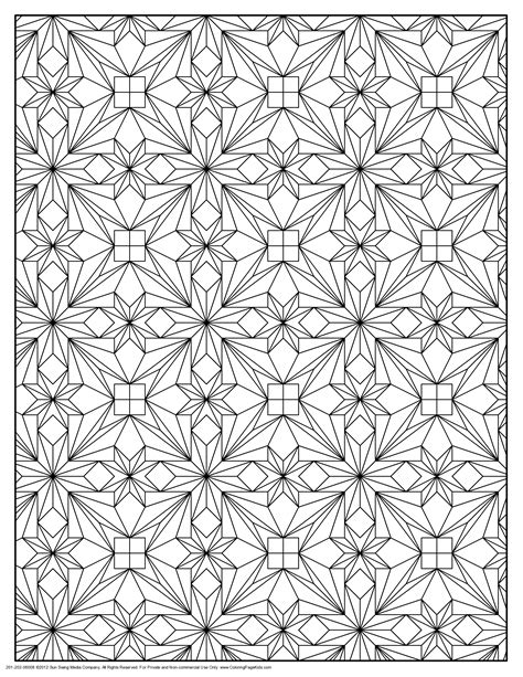 Patterned Coloring Pages coloring pages patterns coloring home