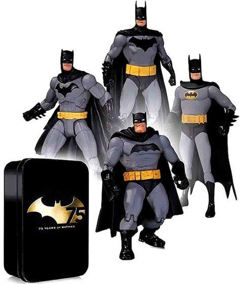 Dc Unlimited Batman Tdkr Frank Miller batman 75th anniversary frank miller greg capullo alex ross friends figure 4 pack