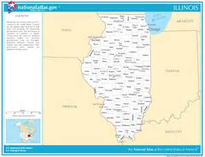 state map with cities and counties illinois state maps interactive illinois state road maps