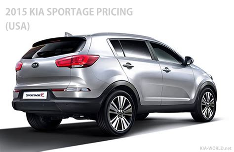Price Kia Sportage Kia Sportage Price 2015 Model Year Lx Ex Sx Trim