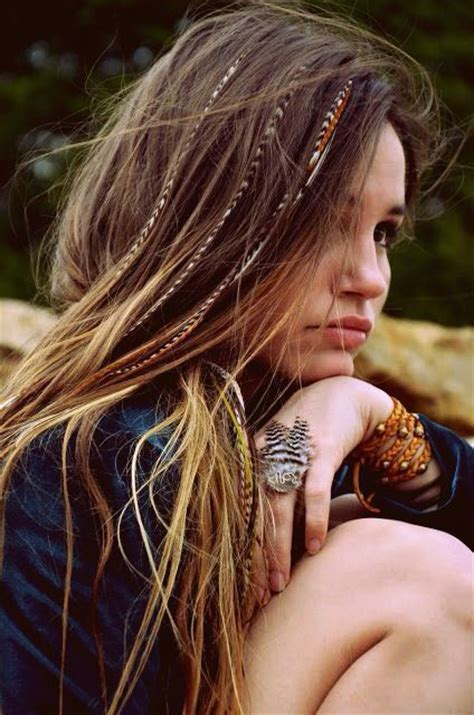 feathered hair braids 101 best images about bohemian hair on pinterest chain