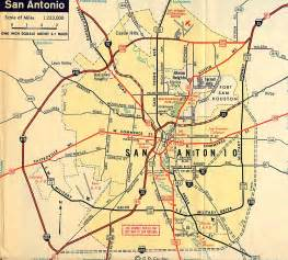 san antonio map highway