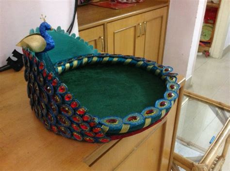 Handmade Saree Packing Trays - saree tray gift packing wedding packing saree