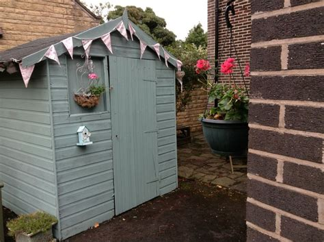 Painted Shed Ideas by Crown Seagrass Shed Paint Transforms Shed To Hut