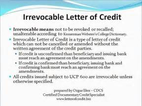Certification In Letter Of Credit Types Of Letters Of Credit Presentation 4 Lc Worldwide International Letter Of Credit
