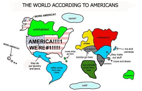 america map view why foreigners sometimes think that americans view the