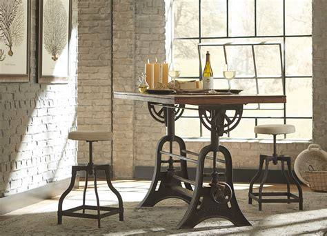industrie chic havertys industrial chic