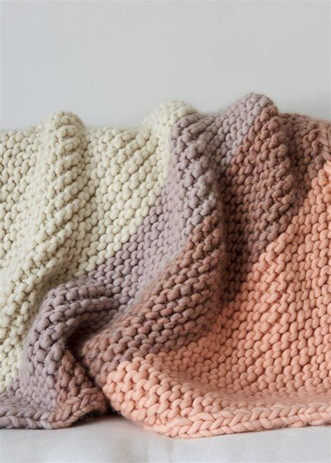 25 best ideas about knit blankets on chunky