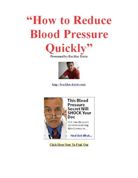 how to downsize how to reduce blood pressure fast pdfsr com