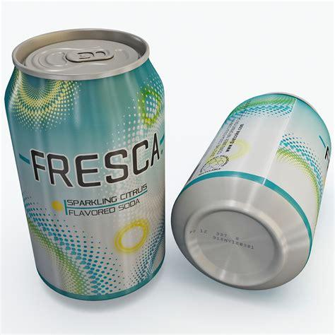 Soft Drink Holder Kulkas Spesial Fresca Soft Drink 3d 3ds