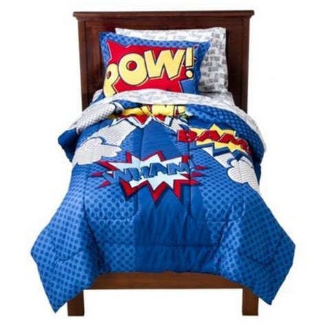 Boys Bedding 28 Superheroes Inspired Sheets Circo Bedding