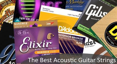 light vs medium acoustic guitar strings the best acoustic guitar strings 6 string sets gearank