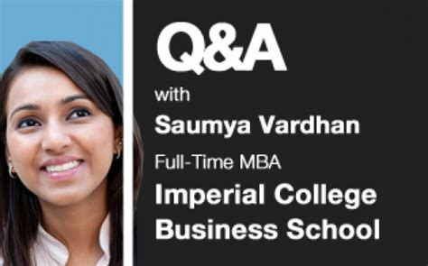 Imperial Business School Mba by The Imperial College Business School Q A Businessbecause