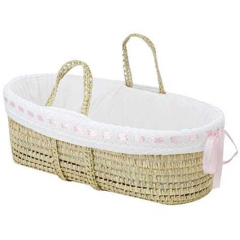 moses basket bedding baby doll bedding pretty ribbon moses basket pink