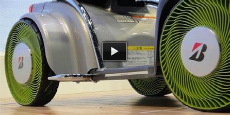 Bridgestone Airless Tires by Awesome Invention Bridgestone S Airless Tires You Don T